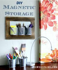 declutter any space with easy diy magnetic storage boards they are a snap to