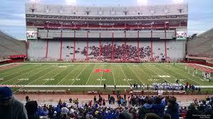 Nebraska Football Field Seating Chart Memorial Stadium Nebraska Section 26 Rateyourseats Com