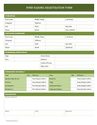 printable registration form template word forms templates tradinghub co