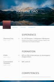 Ux Designer Resume Samples Visualcv Resume Samples Database