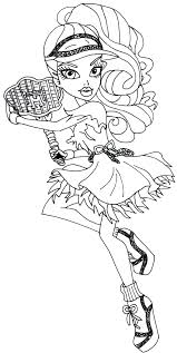Small Picture Monster High Spectra Vondergeist ColouringBratzMonster