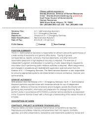 Resume Administrative Resume