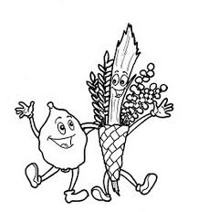 Small Picture Sukkot coloring pages for Kids family holidaynetguide to