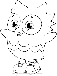 O The Owl Friend Of Daniel Tiger Coloring Pages