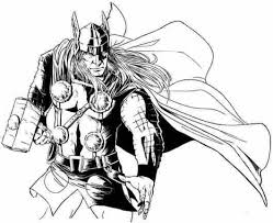 Small Picture Thor Marvel Coloring Pages Coloring Pages