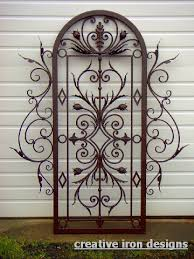 Small Picture wrought iron outdoor trellis for jasmine Mathis Scroll Iron