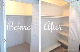 Wood closet shelving Organization 101 You Can Add So Much Extra Space To Your Closet By Just Adding Some Diy Shelving Reality Daydream Diy Custom Closet Shelving Tutorial Reality Daydream