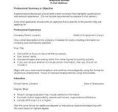 How To Set Up A Resume How To Set Upsume For An Internship Put Template On Microsoft Word 1