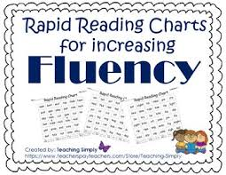 Reading Fluency Practice With Phonics Charts 2nd Grade