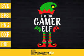 You can copy, modify, distribute and perform the work, even for commercial purposes, all. I M The Gamer Elf Graphic By Silhouettefile Creative Fabrica