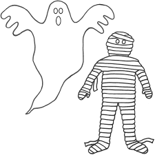 Luxury Ghost Coloring Sheets Free Printable Pages For Kids 21305
