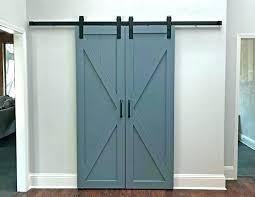 barn doors closet double barn door closet installing sliding barn door barn doors