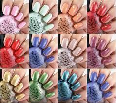 color nails simple top 10 opi nail polish colors perfect for summer nail art designs