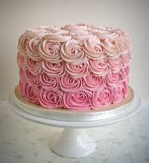 1cbb918dd4fe1ae0404be92d6aa1d305 cake for baby girl baby girl birthday best 25 rose cake ideas on pinterest pink ombre cake, pink on birthday cakes decorated with roses