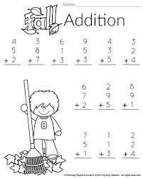 Printable Coloring Math Worksheets For 1st Grade