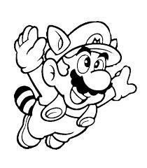 Super Mario Kleurplaat Coloring Home