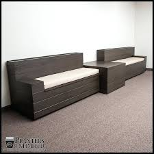 commercial bench seating upholstered