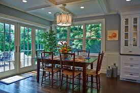 traditional dining room with hardwood floors sunrise building intended for contemporary household troy lighting sausalito chandelier