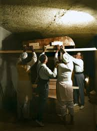 Image result for 1922 – British archaeologist Howard Carter and his men find the entrance to Tutankhamun's tomb in the Valley of the Kings.