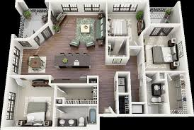 4 Bedroom Apartments In Maryland Concept Design Impressive Decorating Ideas