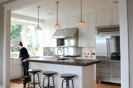 farmhouse kitchen industrial pendant. industrial bar design kitchen traditional with stool farmhouse sink pendant lights