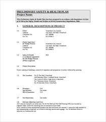 sample safety plan 13 health and safety plan templates free sample example format