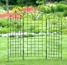 wrought iron garden trellis image 1 custom trellises arch wall black trellis designs wrought iron design garden