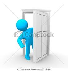 open door clipart. Green Door 5 Icon - Free Icons Open Clipart