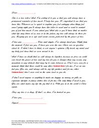 Love Letter Samples Icebergcoworking Icebergcoworking