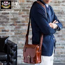 aniline buffalo leather compact shoulder bag i take a birthday present present gift bag