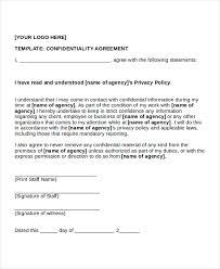 Disclosure Agreement Form Gratulfata