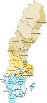 تظهر هذه الخريطة مملكة السويد كما كانت في نهايةالقرن الثامن عشر. محافظات السويد قوائم متعلقة بالسويد مقاطعات السويد هي
