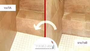 bathroom tile sealer before and after picture of a cleaning sealing service floor grout wall bunnings sealing tile