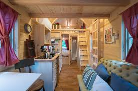 tumbleweed tiny house. The Scarlett Is One Of Many Tiny Homes At Mt Hood House Village (all Built By Tumbleweed Company In Welches, Oregon. E