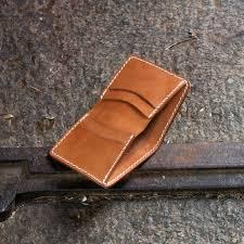 free leather bi fold wallet template