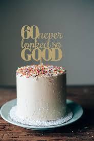 60th Birthday Cake Topper 60th Birthday Decorations 60th Etsy