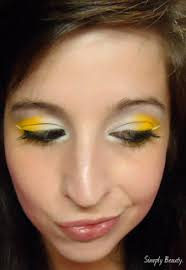 bee hallloween makeup ideas 1