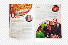 fast food popeyes annual report
