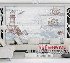3d Aangepaste Behang Woondecoratie Blauwe Hemel En Witte Wolken