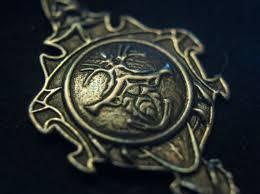dark souls 1 silver pendant 3d printed