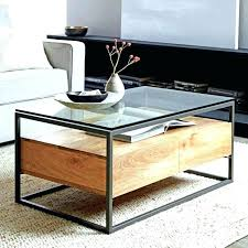 round basket coffee table coffee tables with basket storage modern storage coffee table round modern coffee