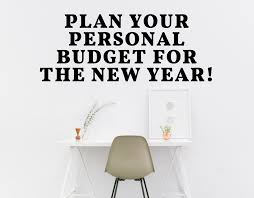 How To Plan A Personal Budget Plan Your Personal Budget For The New Year Signature Financial
