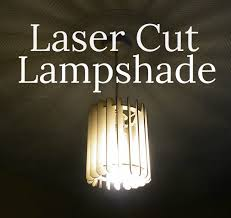picture of laser cut lampshade
