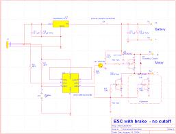 12f675 based brushed motor esc esccar gif rev a circuit diagram for production car esc brake and no lvc