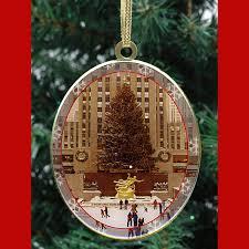 CO48956 Rockefeller Center Skating Rink  Christmas Ornament