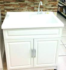 slop sink height utility sink small utility sink with cabinet slop for laundry and prepare utility