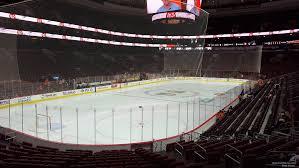 Wells Fargo Center Section 109 Philadelphia Flyers