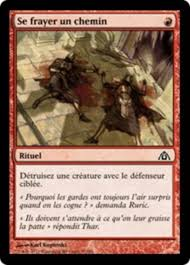 Se Frayer Se Frayer Un Chemin Dragons Maze Dgm 32 Scryfall Magic Card