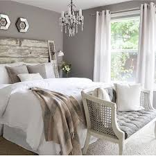 mixing rustic and chic loving the warm light gray wall color