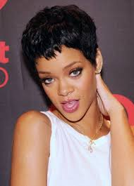 Hair Style For Black Woman boycut hairstyle for black women rihanna short hairstyles zestymag 2089 by wearticles.com
